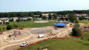 VanBuren Township Splash Pad 2019 Project