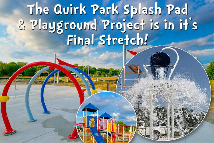 Van Buren Quirk Park Splash Pad