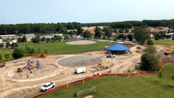 VanBuren Township Splash Pad 2019 Project