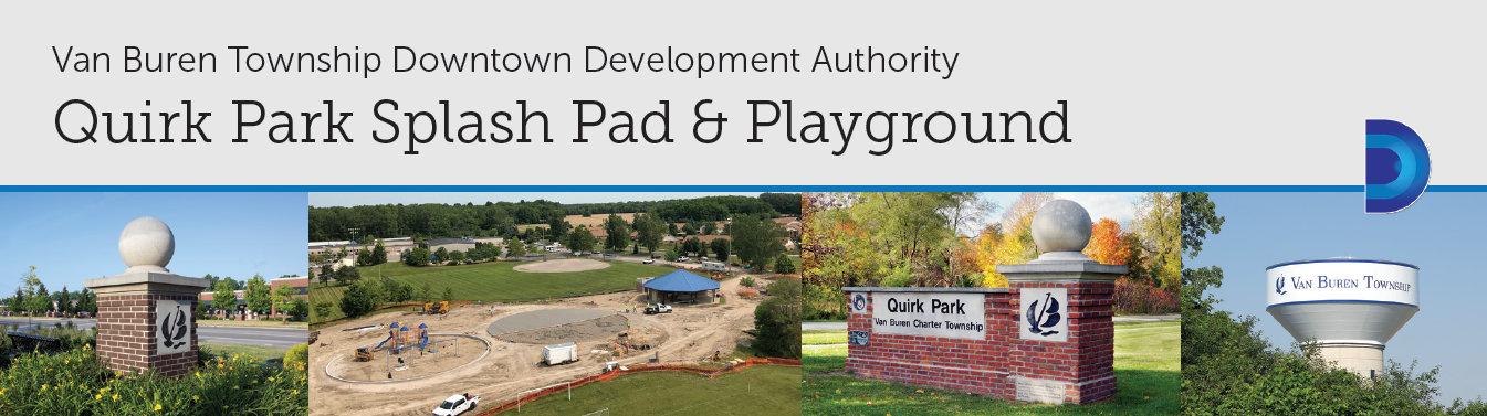 Van Buren Charter TownshipQuirk Park Splash Pad and Playground